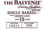 Balvenie 15yr Single Barrel